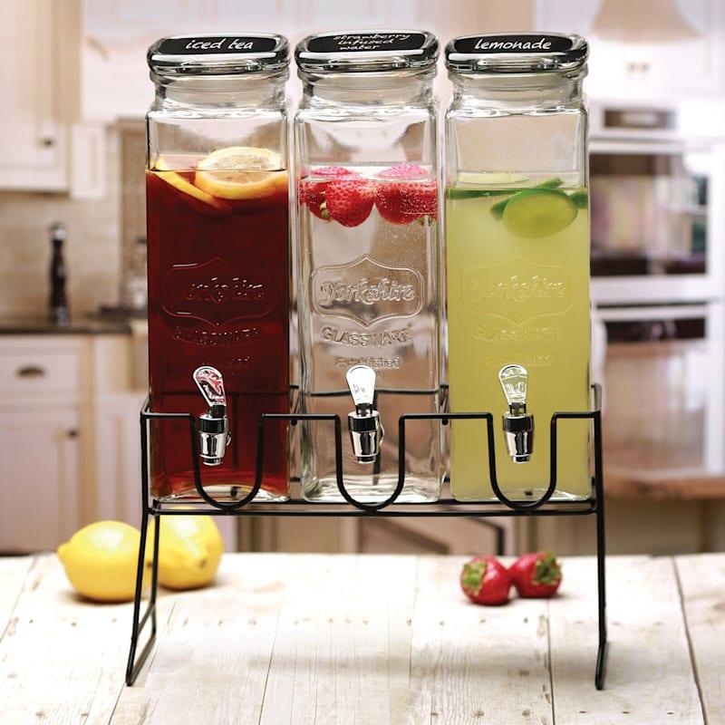 Triple Cold Beverage Dispenser
