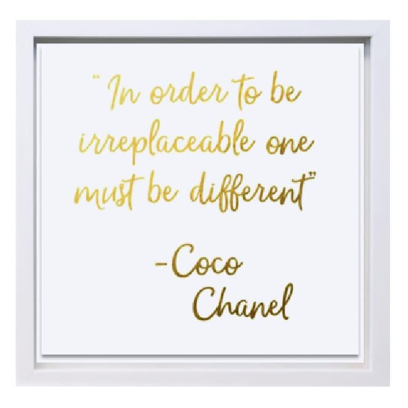 19X19 Keep Heels Chanel Under Glass Art