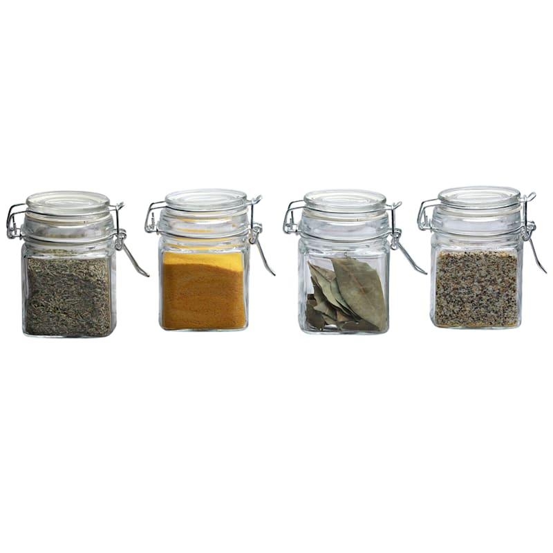 7.25oz Spice Jars Set Of 4