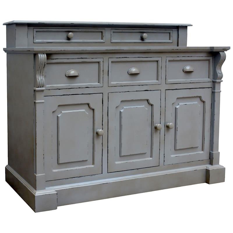 Joanna 5 Drawer 3 Door Wood Cabinet