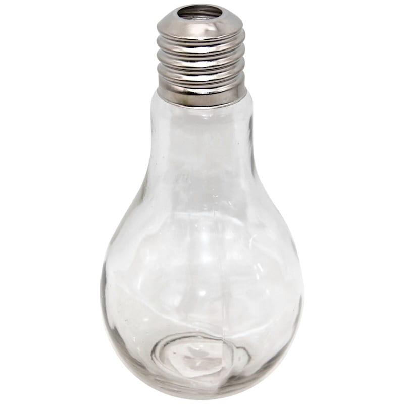 Clear Glass Bud Vase 4X7