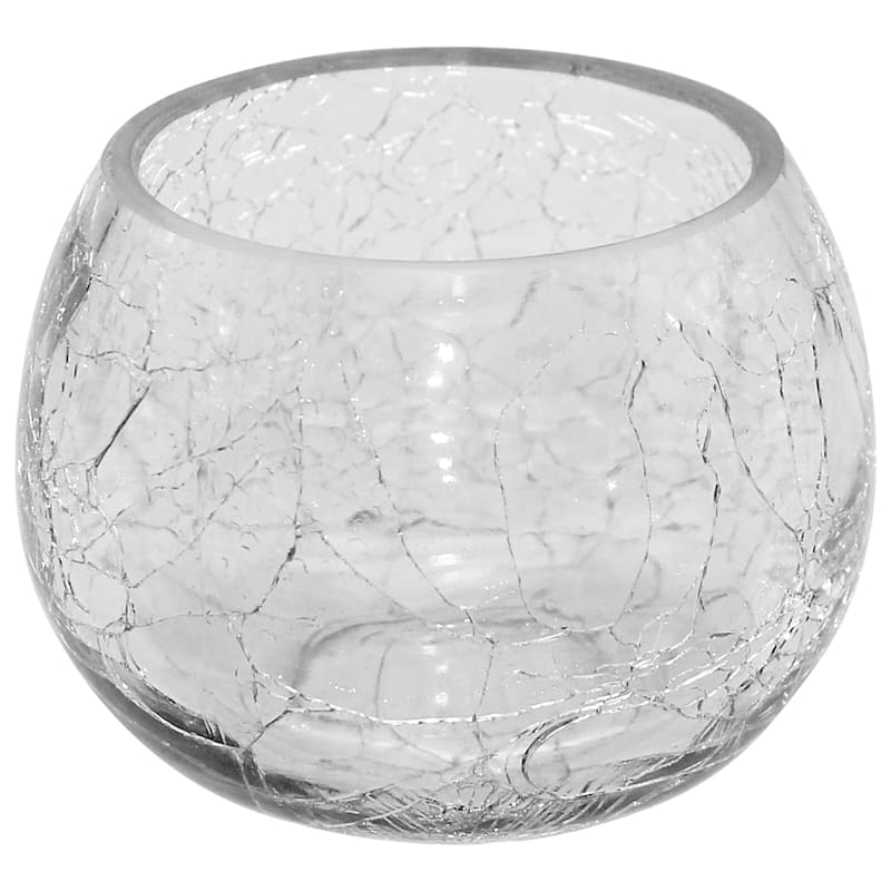 4in. Clear Glass Votive Holder