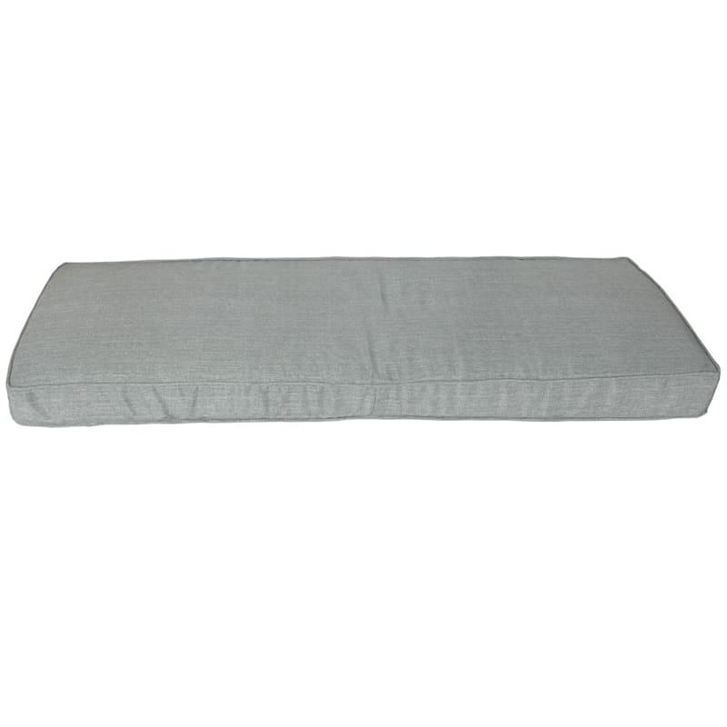 Tahiti Silver Outdoor Bench Cushion