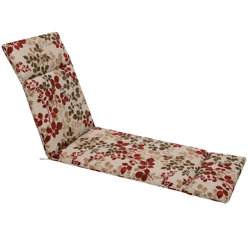Cabrera Sangria Outdoor Chaise Lounge Universal Cushion