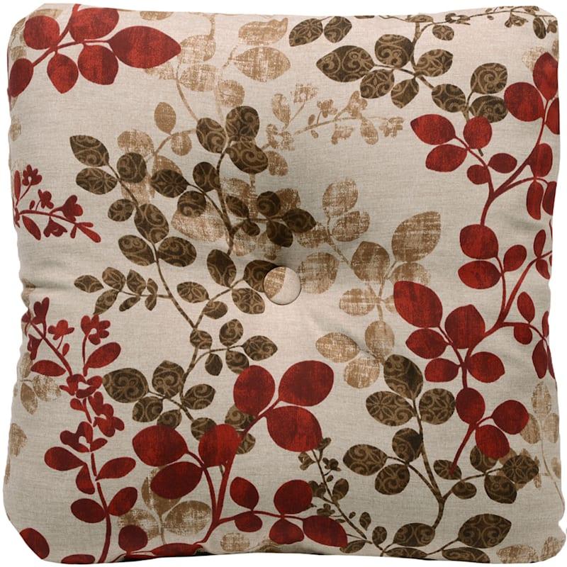 Cabrera Sangria Outdoor Tufted Back Cushion