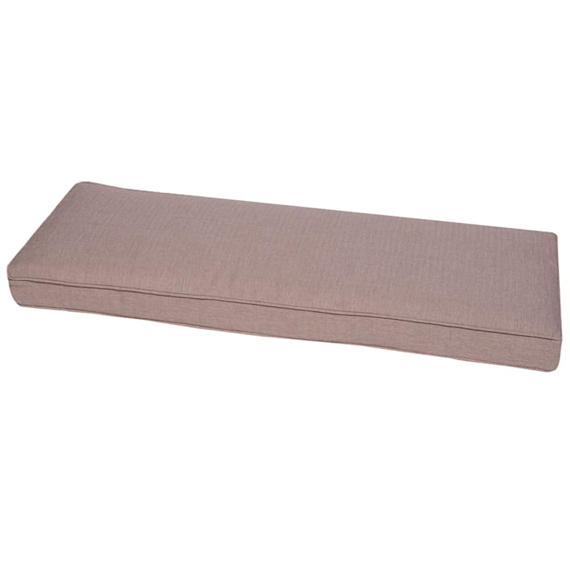 Sonora Taupe Outdoor Premium Bench Cushion