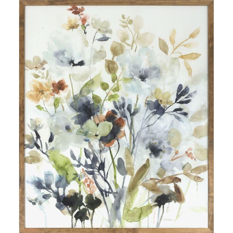23X29 Floral Framed Art
