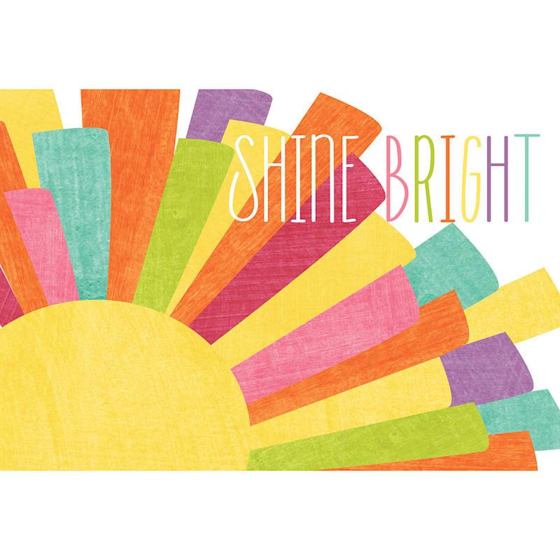 24X30 Shine Bright Sun Canvas Art