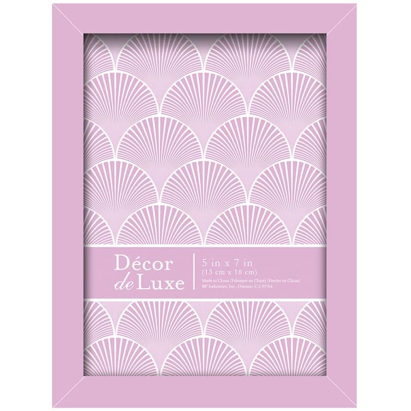 5X7 Pink Lavender Tabletop Frame