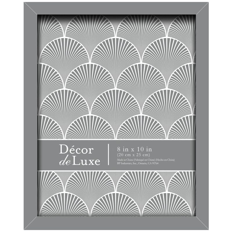 8X10 Grey Tabletop Frame