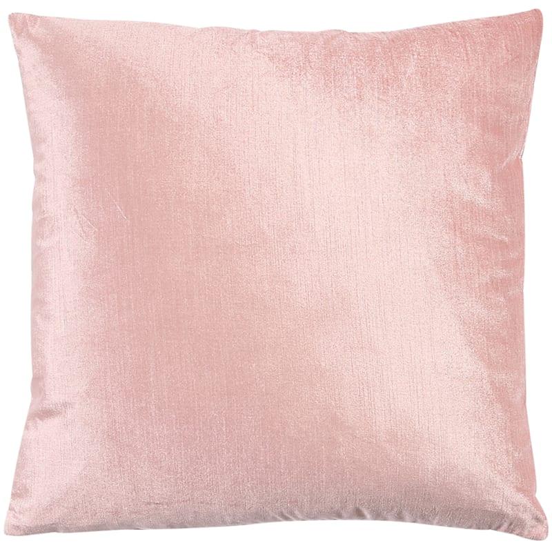Gillmore Blush Velvet Decorative Pillow 18X18