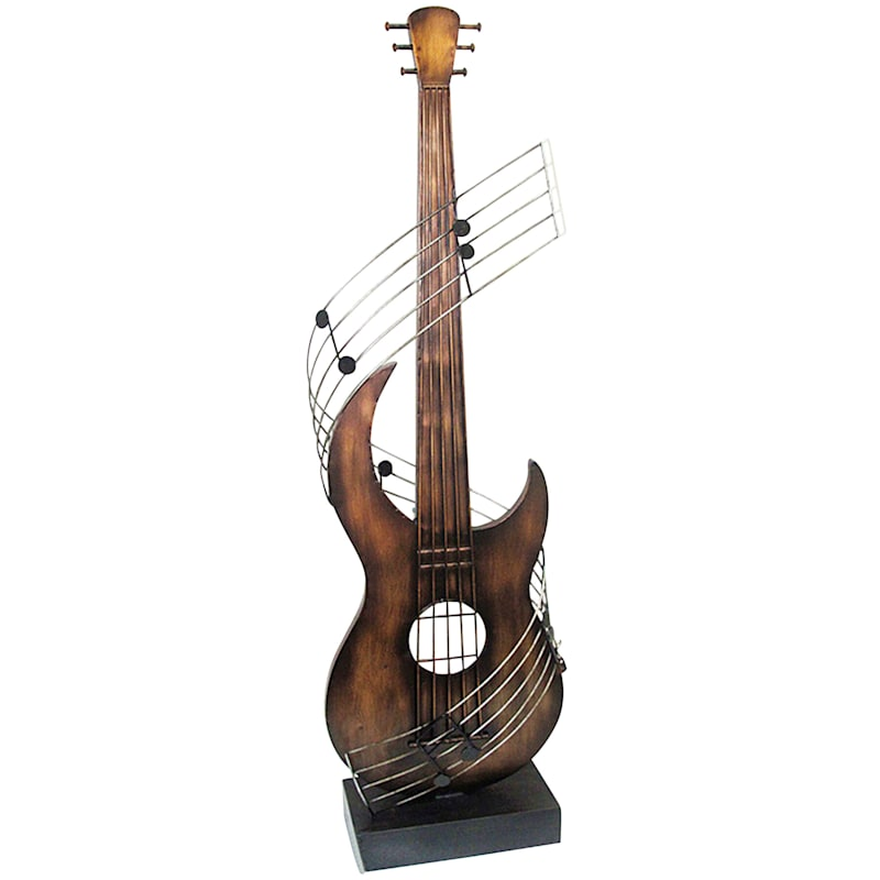 38in. Guitar With Musical Note