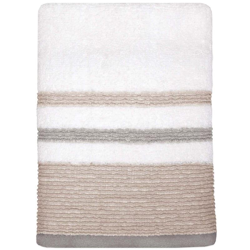 Samantha Sand/Grey Hand Towel