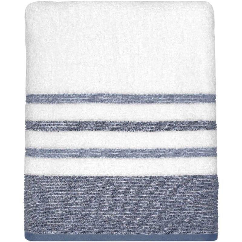 Samantha Blue/Grey Bath Towel