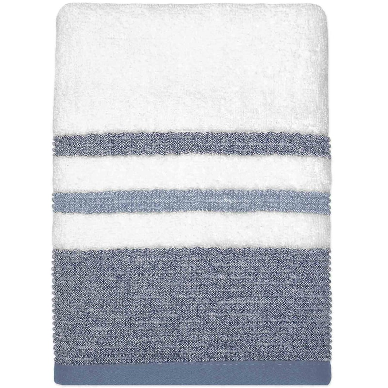 Samantha Blue/Grey Hand Towel