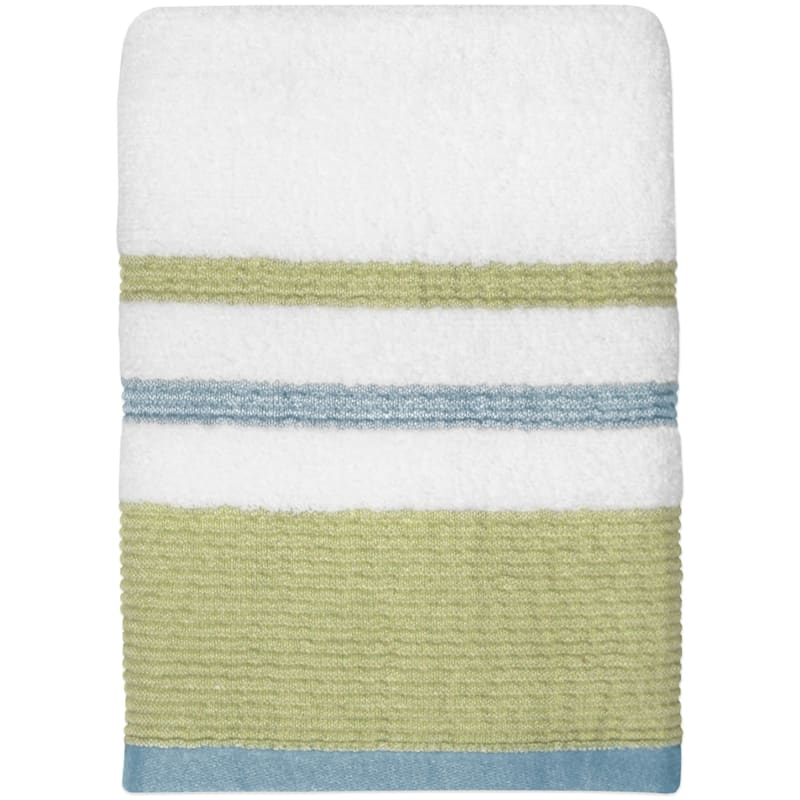 Samantha Sage/Aqua Hand Towel