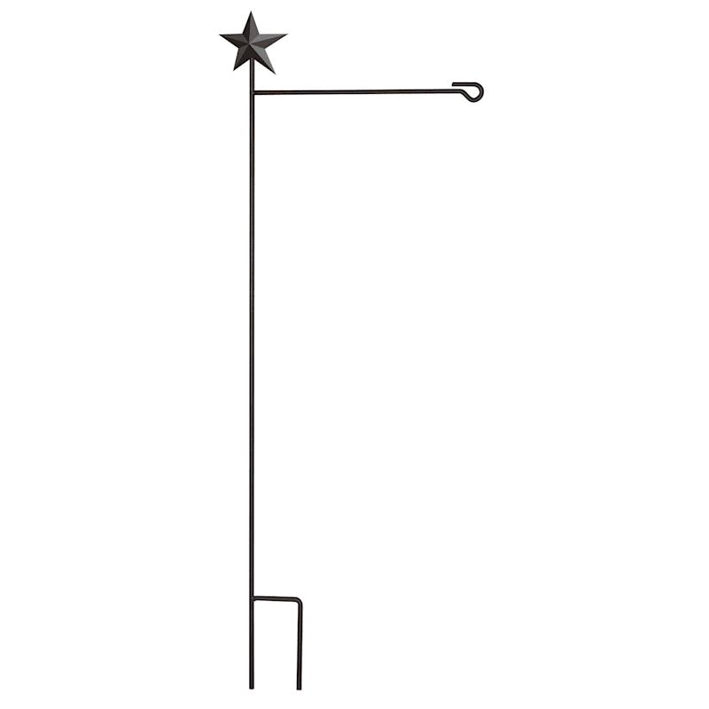 45in. Star Garden Flag Holder