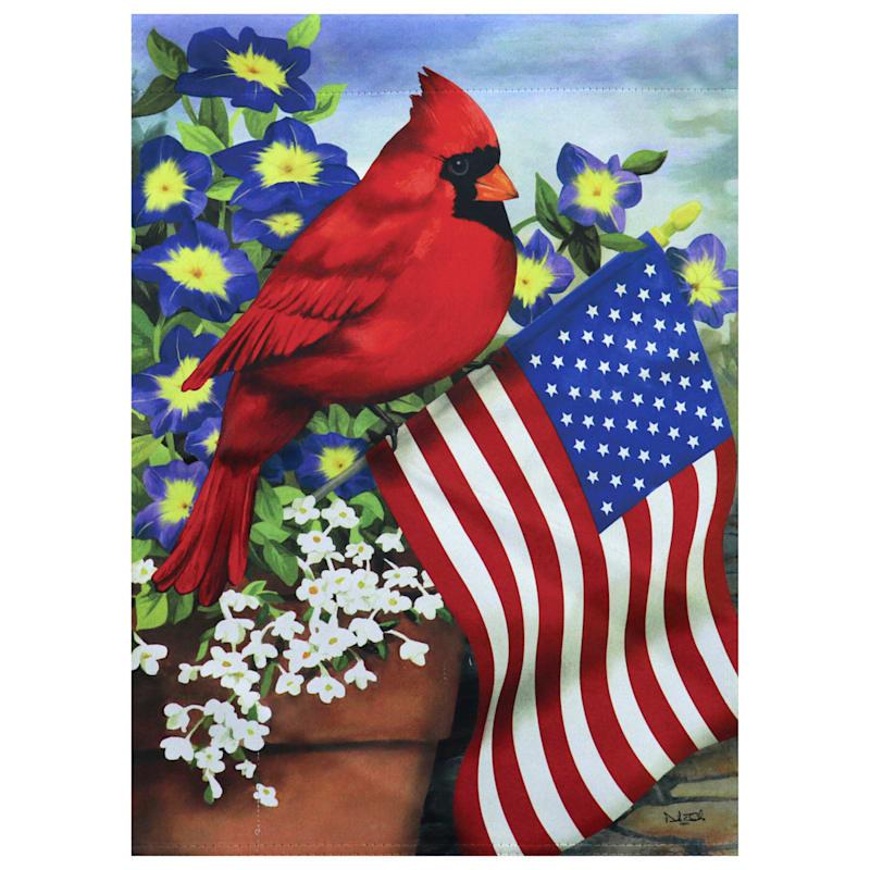 Cardinal Glory Garden Flag