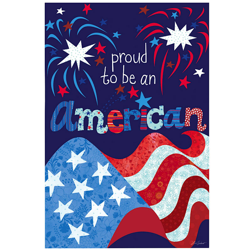 PROUD TO BE AMERICAN FLAG