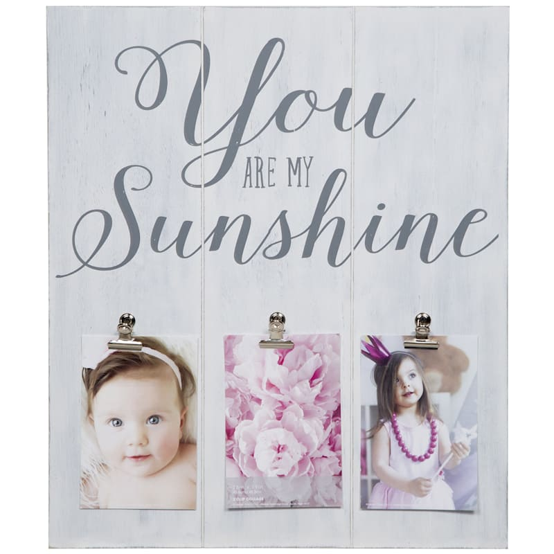 16X19 You Are My Sunshine 3 Clip Photo Collage