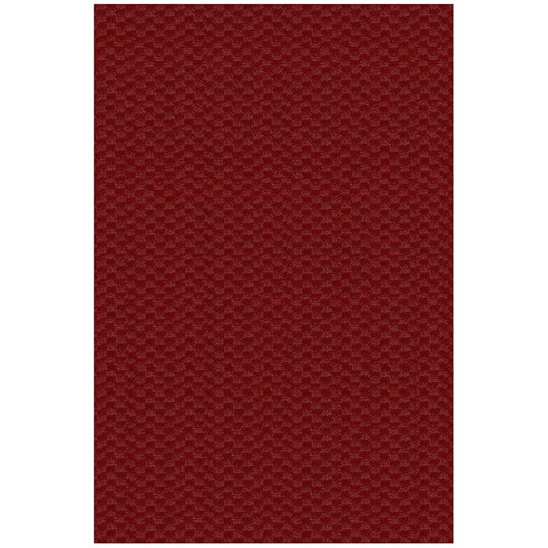 (D366) Medallion Scatter Rug Red, 2x4