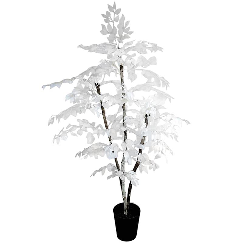 6.5ft. White Designer Ficus