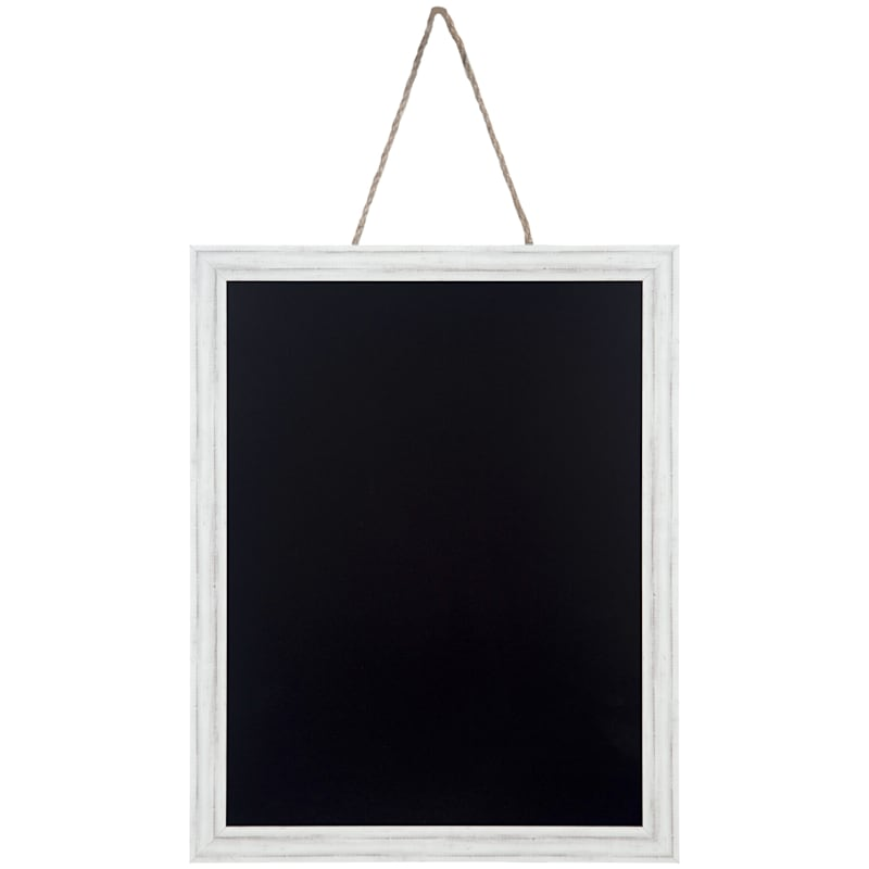 12X16 Whitewash Ridged Profile Hanging Chalkboard