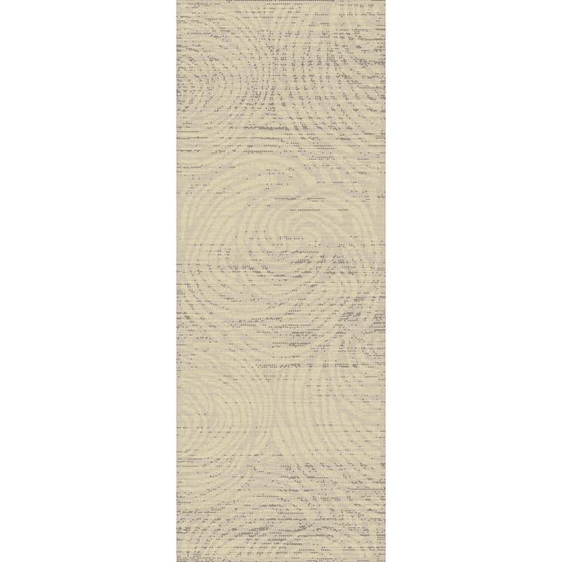 (B541) Graphix Grey & Cream Swirl Runner, 2x6