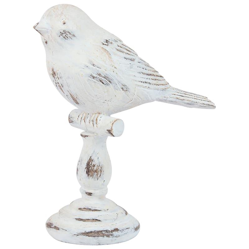 4X5 Res Whitewashed Bird