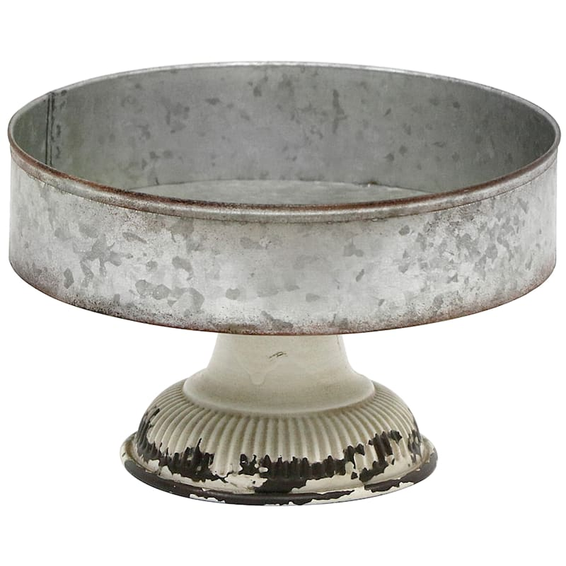 8X5 Iron Round Tray With Stand