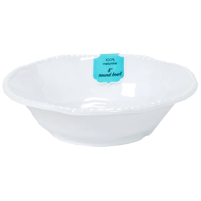 White Rope Cereal Bowl