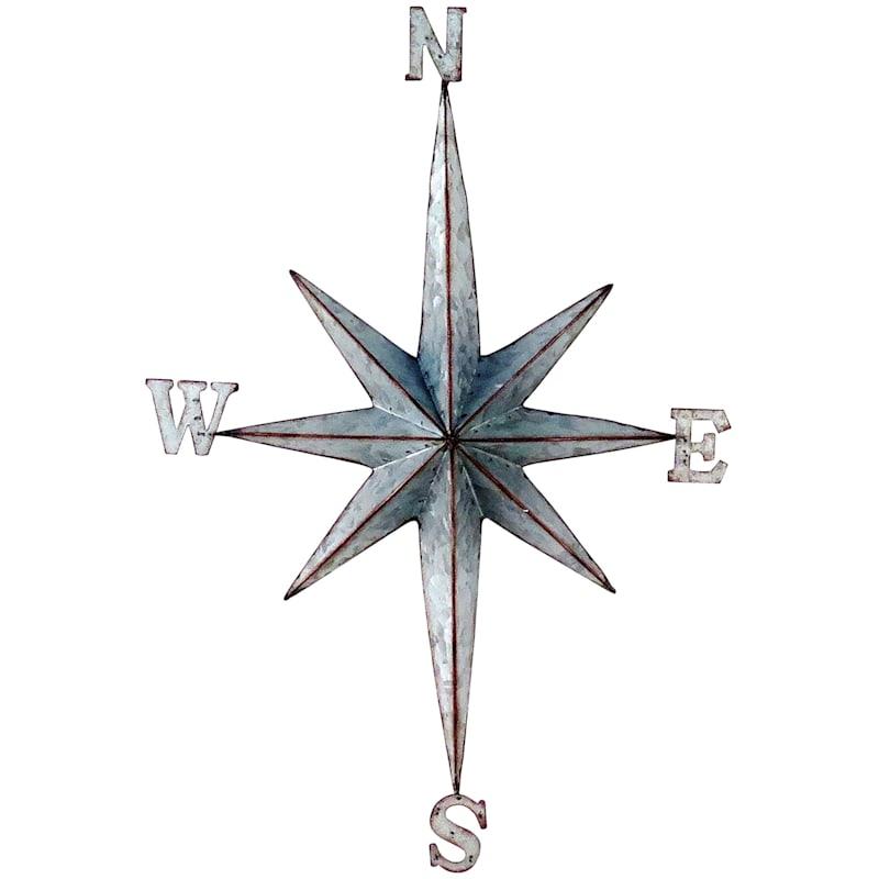 15X22 Metal Galvanized Star Wall Art
