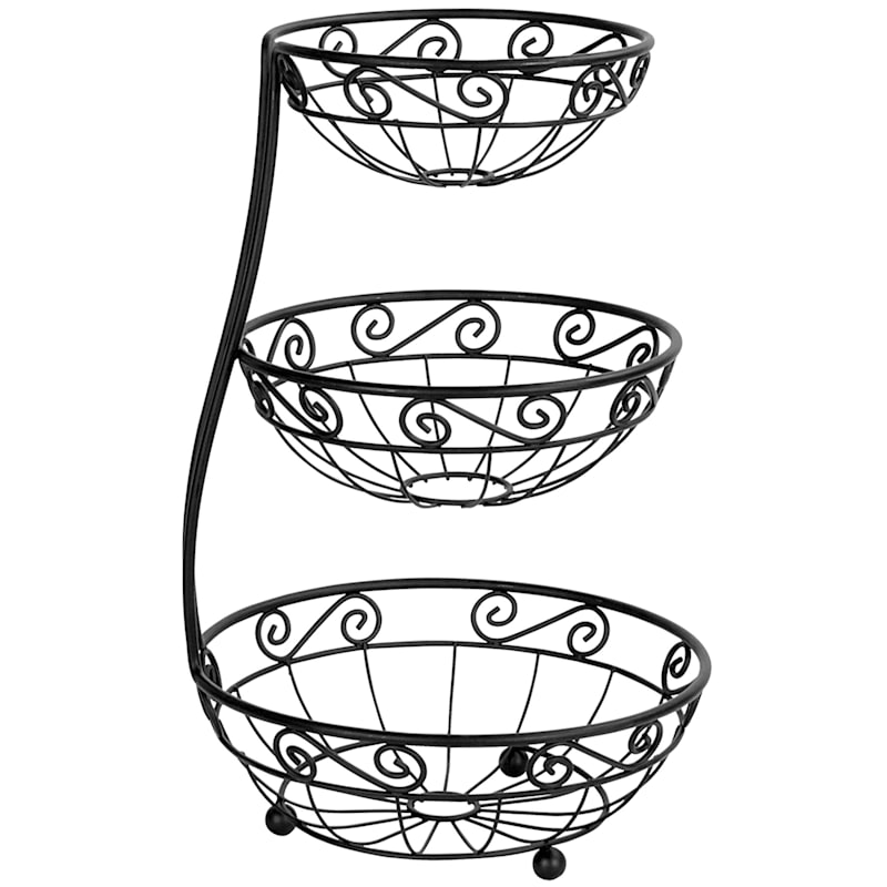 Scroll Arched 3 Tier Server