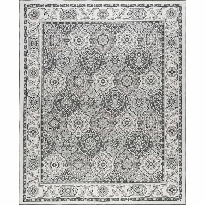(D409) Traditional Oriental Pattern Classic Panel Design Runner, 2x7