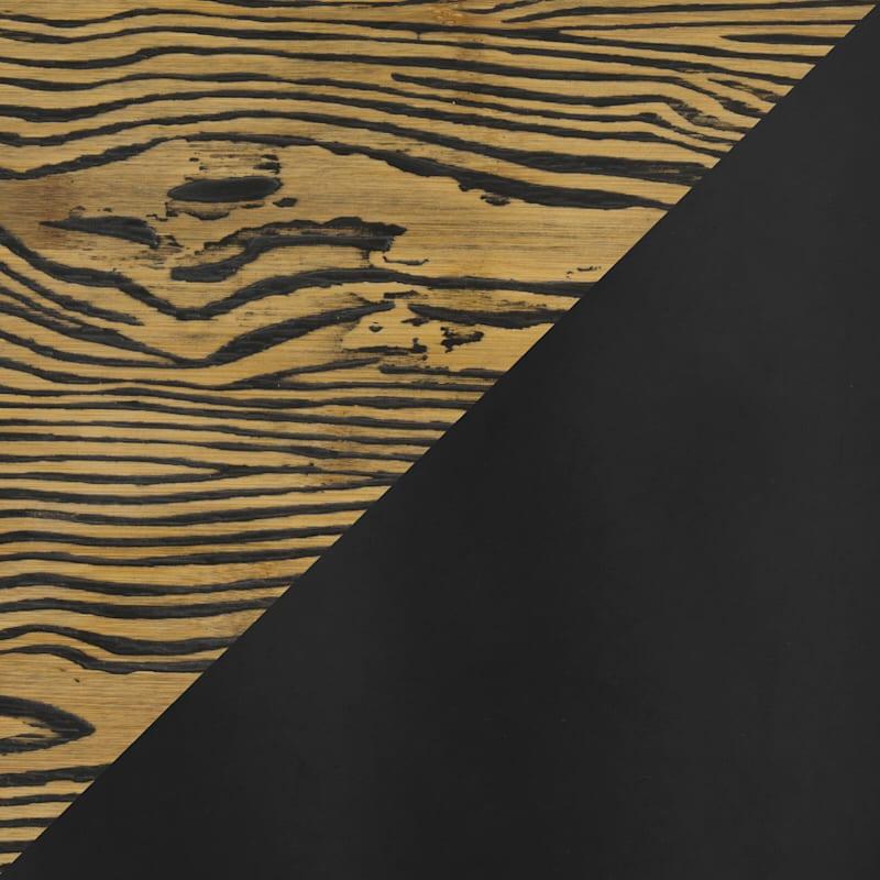Dakota Black Adjustable Industrial Modern Swivel Barstool