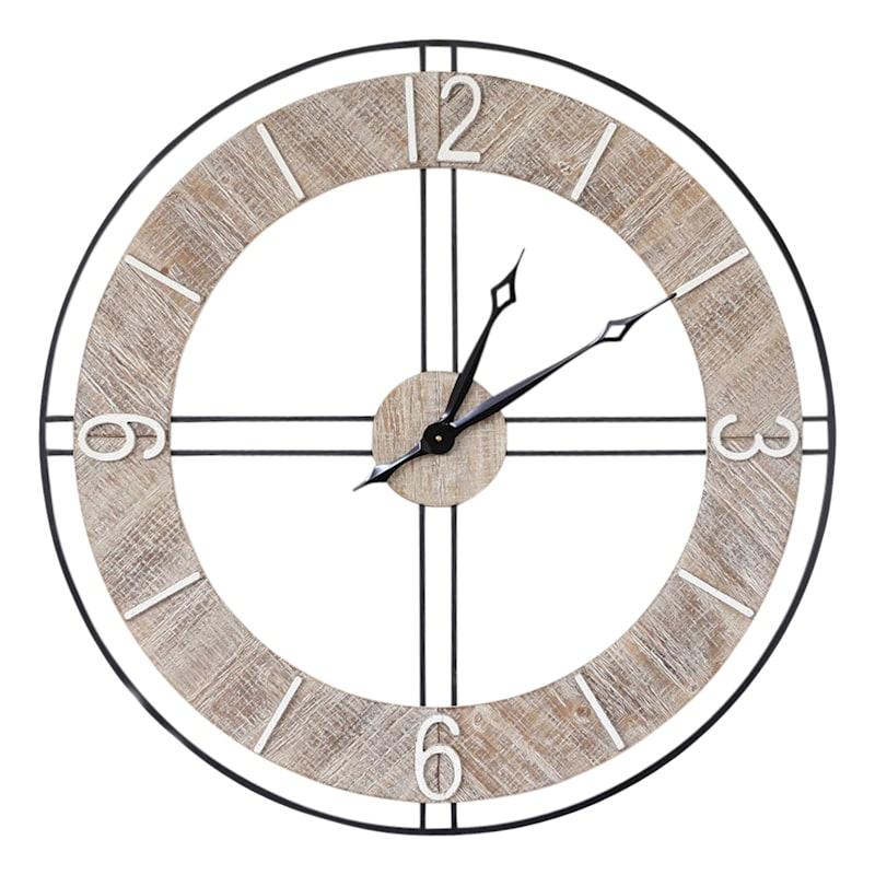 36in. Wall Clock
