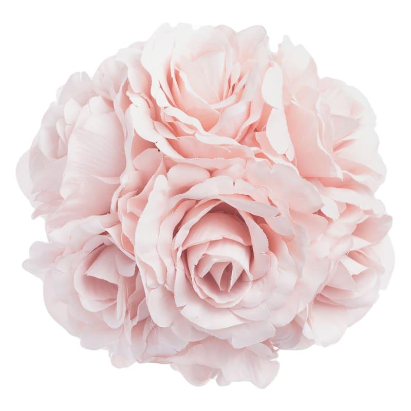 Faux Rose Kissing Ball