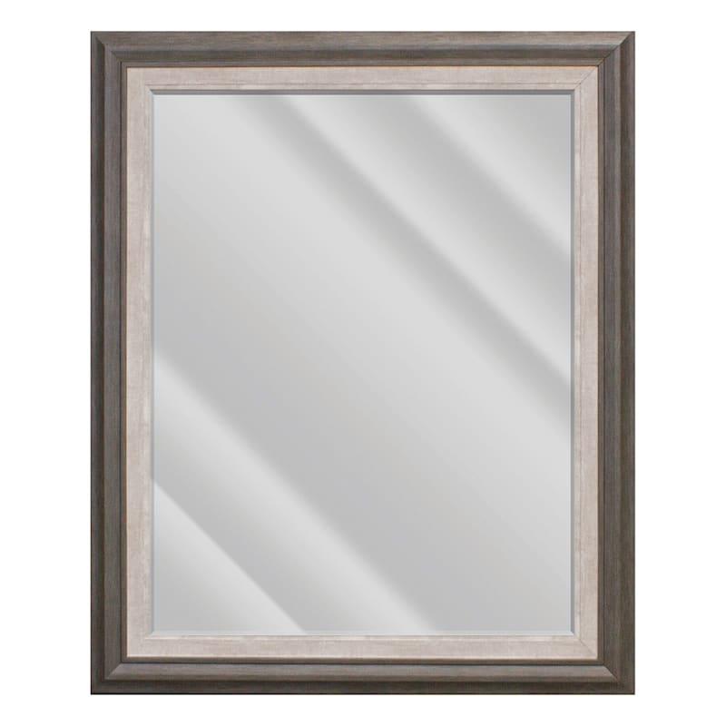 29x35 Janice Sable & Grey Mirror