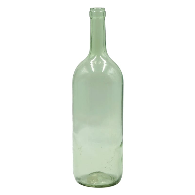 3X12 Glass Bottle Recycle Green