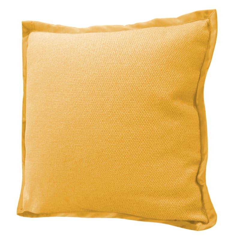 """Miles Ochre Throw Pillow, 22"""""""