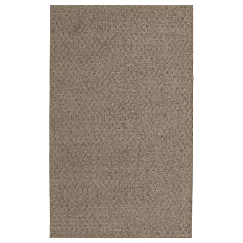 (D313) Town Square Scatter Rug Taupe, 2x4