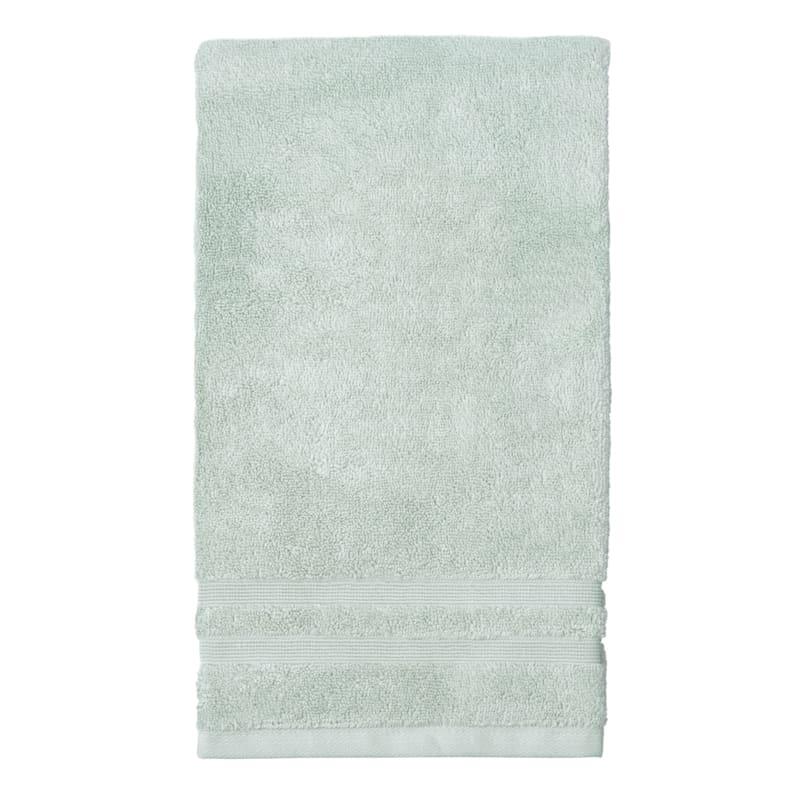 Egyptian Aqua Hand Towel 16X30