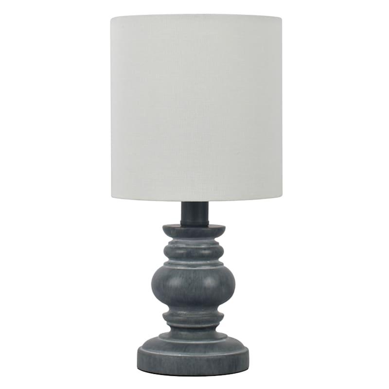12in. Blue Mini Accent Lamp