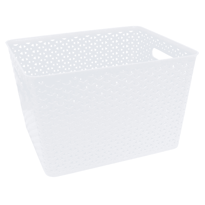13.75X11X9 Weave Basket