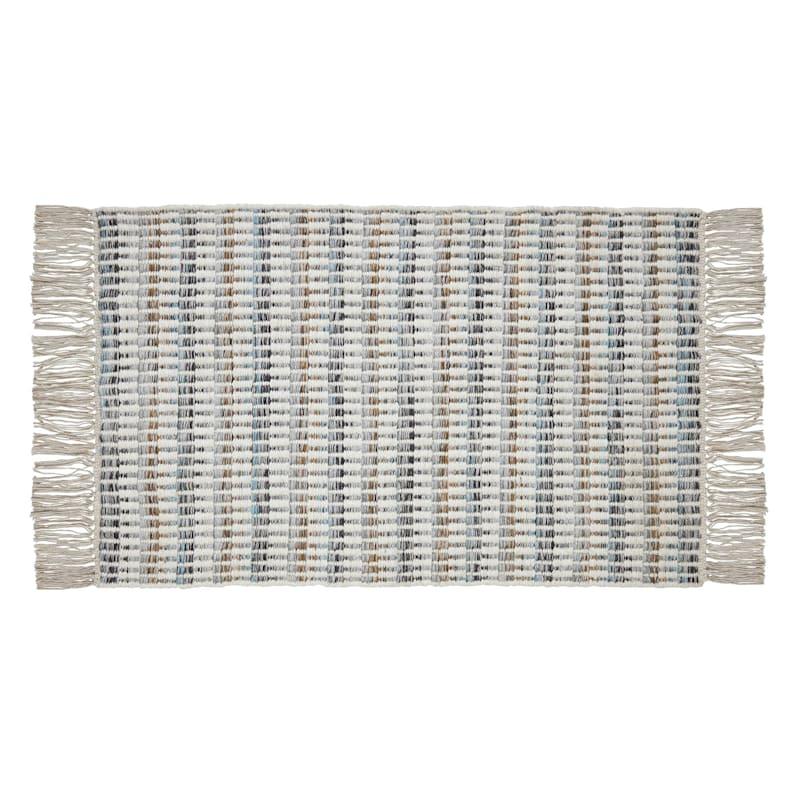 Wool Slopes Ivory/Multi Rug 2X3
