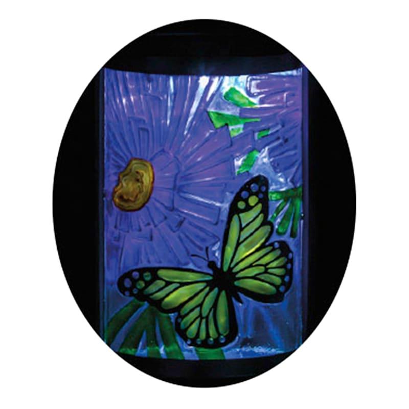 15in. Solar Butterfly Lantern
