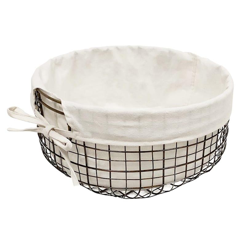 Round Metal Basket/Liner S