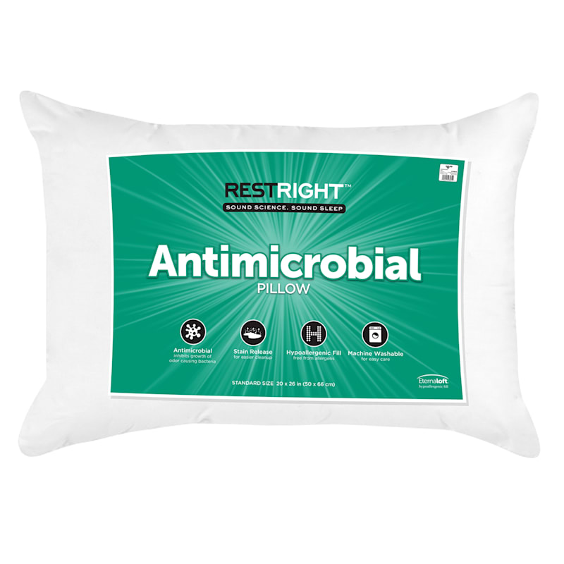 Antimicrobial Utility Bed Pillow