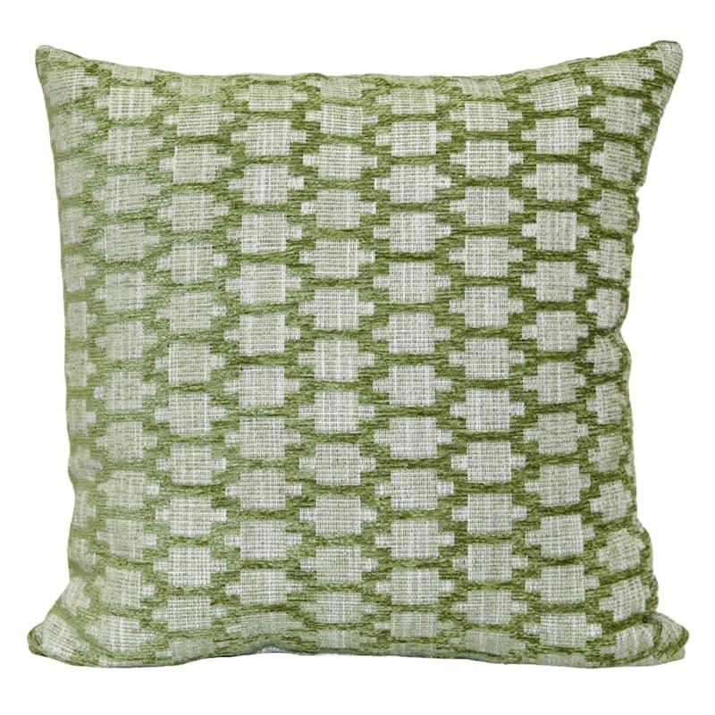 "Hopson Coral Throw Pillow, 18"""