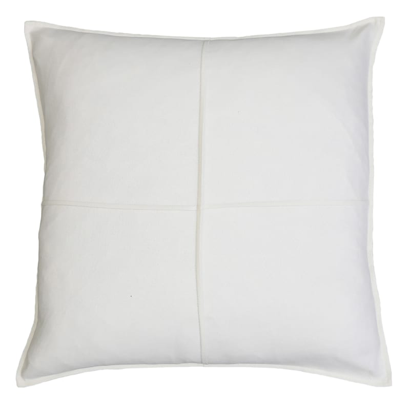 """Lincoln Ivory Throw Pillow, 22"""""""